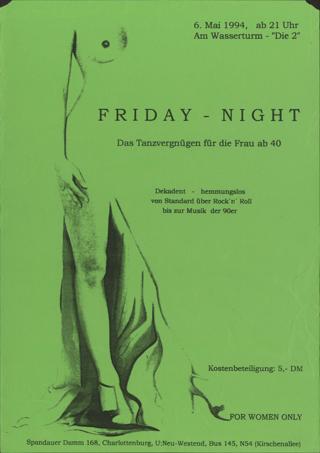 Friday-Night Das Tanzvergnügen für die Frau ab 40