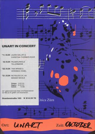 UnArt in concert