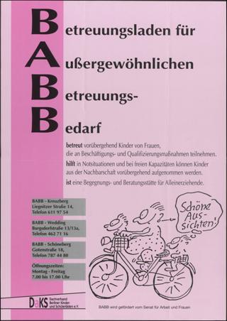 BABB Betreuungsläden für außergewöhnlichen Betreungsbedarf