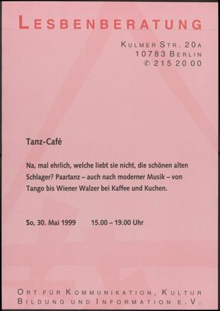 Tanz-Cafe