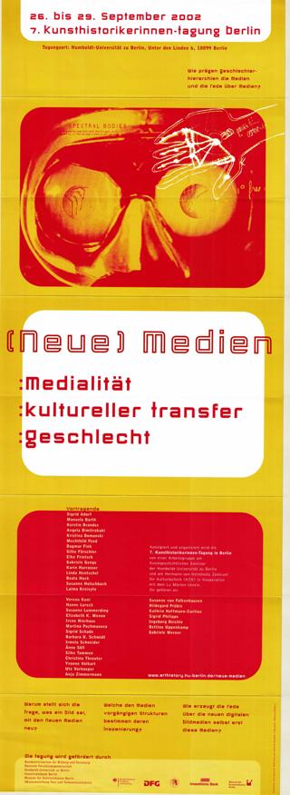 [Neue] sic Medien Medialität - kultuereller Transfer - Geschlecht