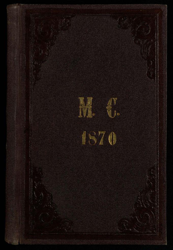 Tagebuch M.C. 1870 / Seite 1