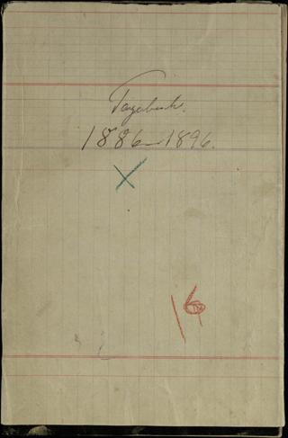Tagebuch 1886-1896
