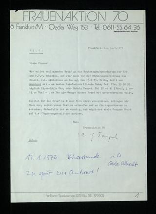 Offener Brief an Bundestagsabgeordnete (SPD/FDP)