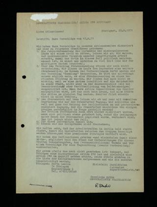 Liebe Kölnerinnen! : eure Vorschläge vom 12.8.1971
