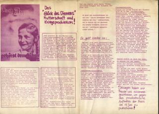 """Demnächst wieder: """"Dem Führer ein Kind schenken!"""" ?"""