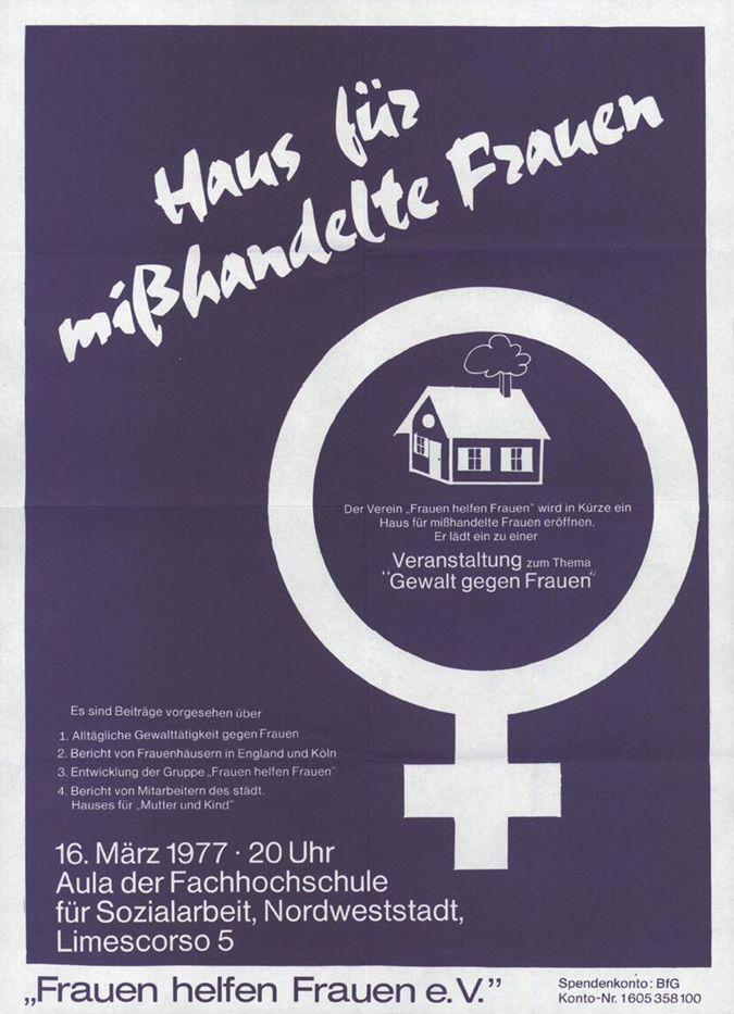 Haus für mißhandelte Frauen