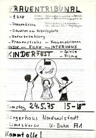Frauentribunal : Kinderfest