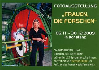 """Fotoausstellung """"Frauen, die forschen"""""""