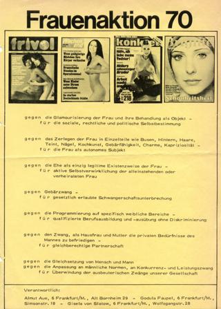 Frauenaktion 70