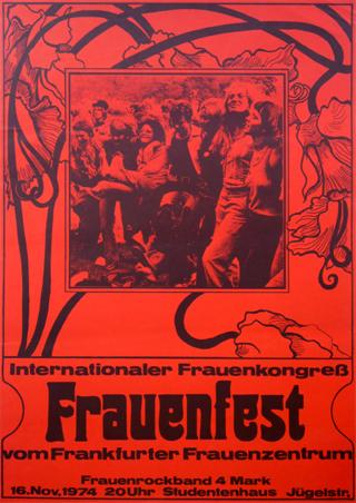 Frauenfest vom Frankfurter Frauenzentrum