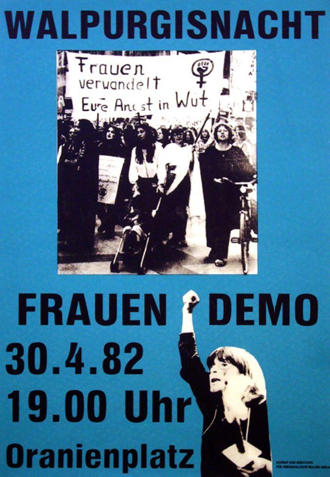 Walpurgisnacht Frauen-Demo