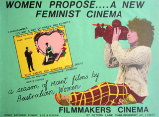 Women propose ... a new feminist cinema