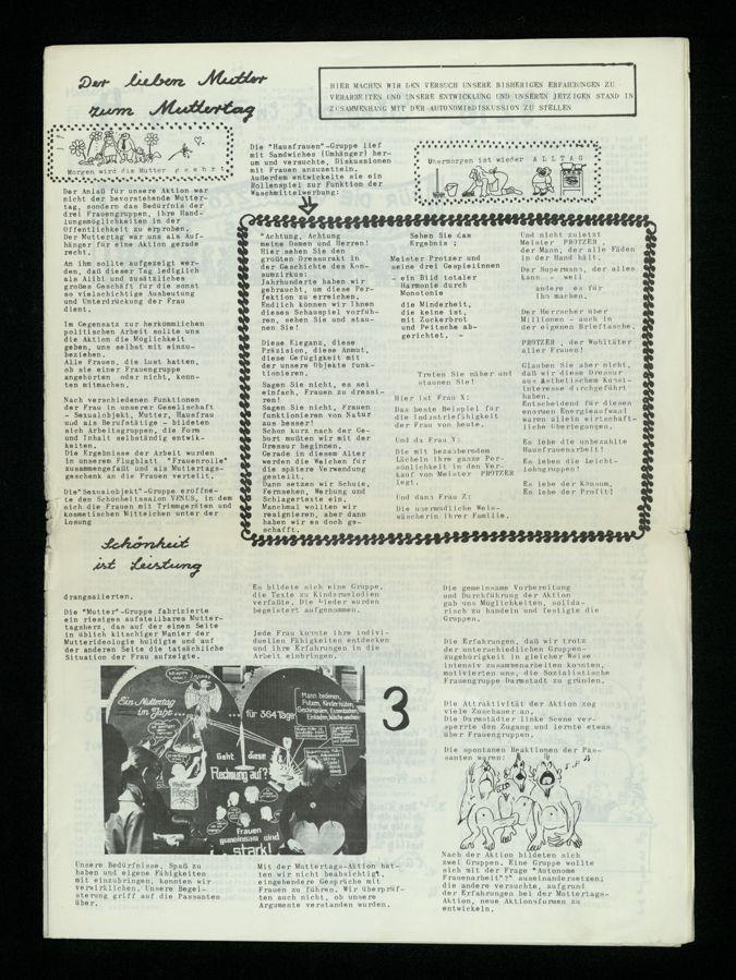 Frauenzeitung : Frauen gemeinsam sind stark (1974)2 / Seite 3