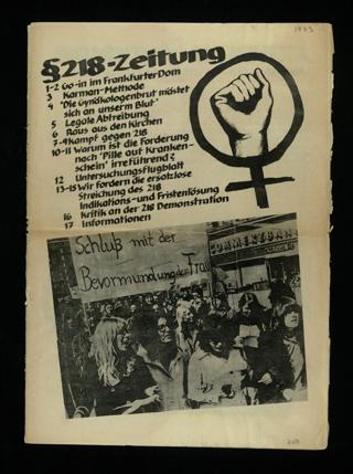 Paragraph-218-Zeitung [d. i. §-218-Zeitung]