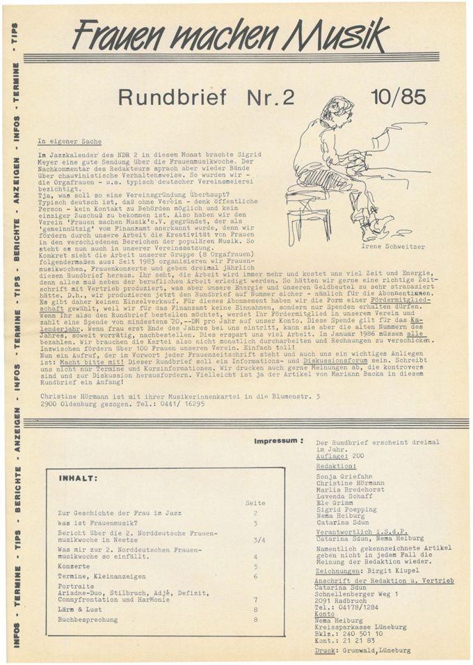 Rundbrief 2 / Seite 1