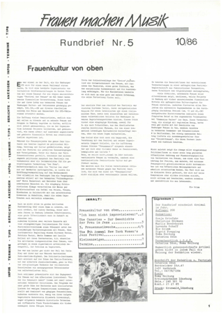 Rundbrief 5