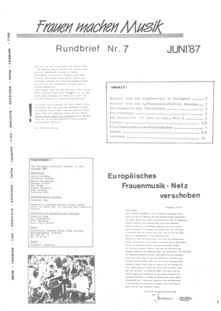 Rundbrief 7