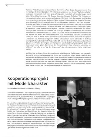 Kooperationsprojekt mit Modellcharakter