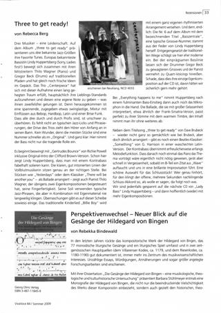 Perspektivenwechsel - Neuer Blick auf die Gesänge der Hildegard von Bingen