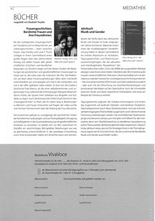Bücher vorgestellt von Elisabeth Treydte