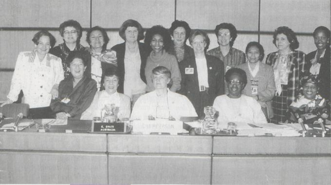 Ausschuss für die Beseitigung der Diskriminierung der Frau (CEDAW) in seiner Sitzung vom April 1989 in Wien