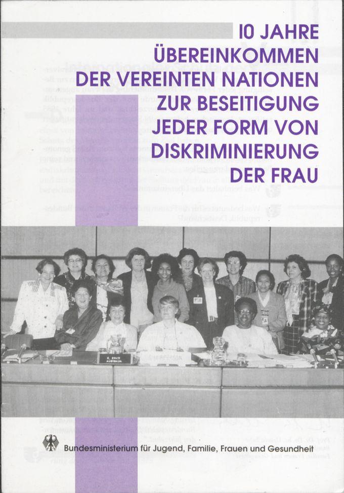 Ausschuss für die Beseitigung der Diskriminierung der Frau (CEDAW) in seiner Sitzung vom April 1989 in Wien / Seite 1