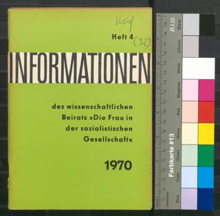 Informationen des wissenschaftlichen Beirats