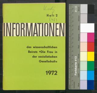 Bibliographie zur Geschichte des Kampfes der deutschen Arbeiterklasse für die Befreiung der Frau und zur Rolle der Frau in der deutschen Arbeiterbewegung : Teil IV