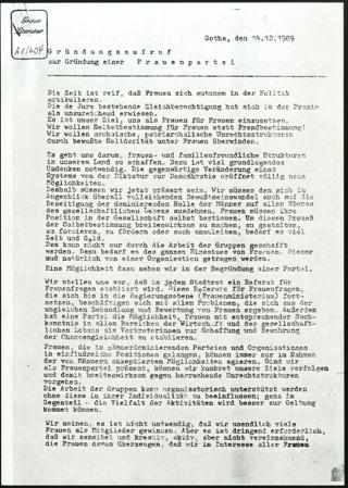 Sammlung: Bürgerbewegung