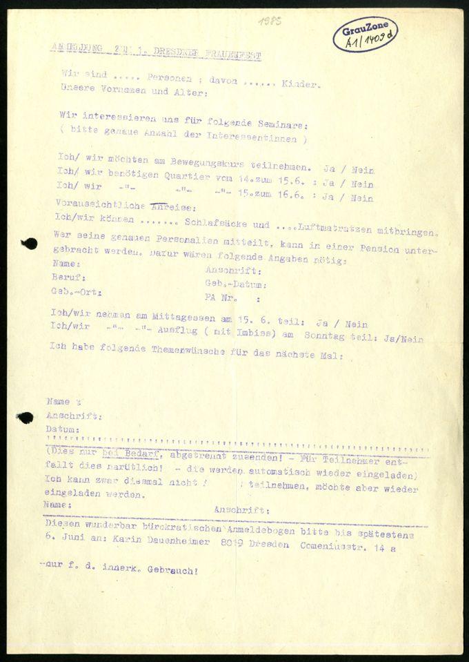 Kirchliche Arbeitskreise Homosexualität in der DDR