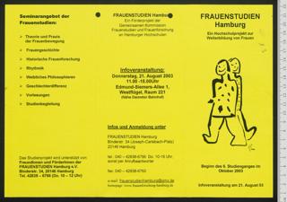 Frauenstudien Hamburg