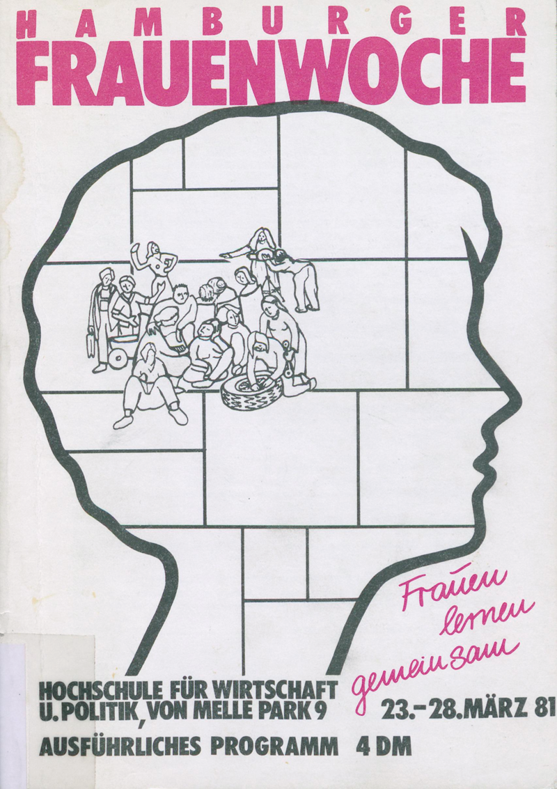 Hamburger Frauenwoche, 23. - 28. März 1981 : Ausführliches Programm