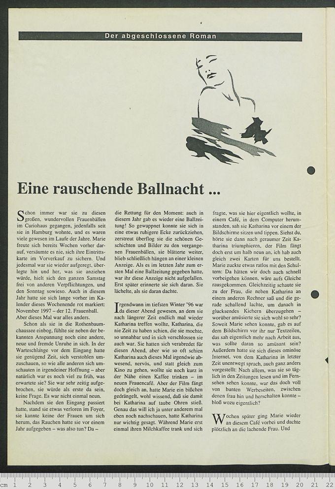 Curiosa-Ballzeitung