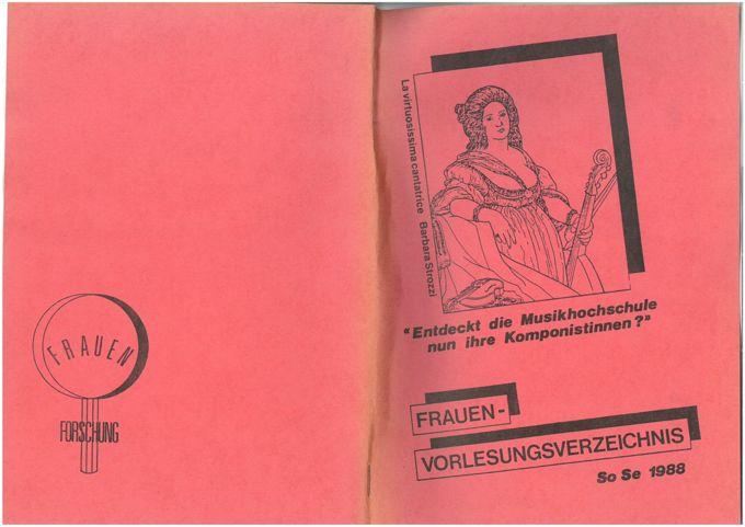 Frauen-Vorlesungsverzeichnis