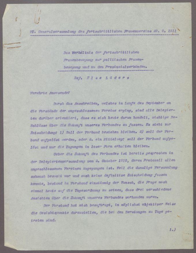 Tätigkeit des Verbandes / Seite 5