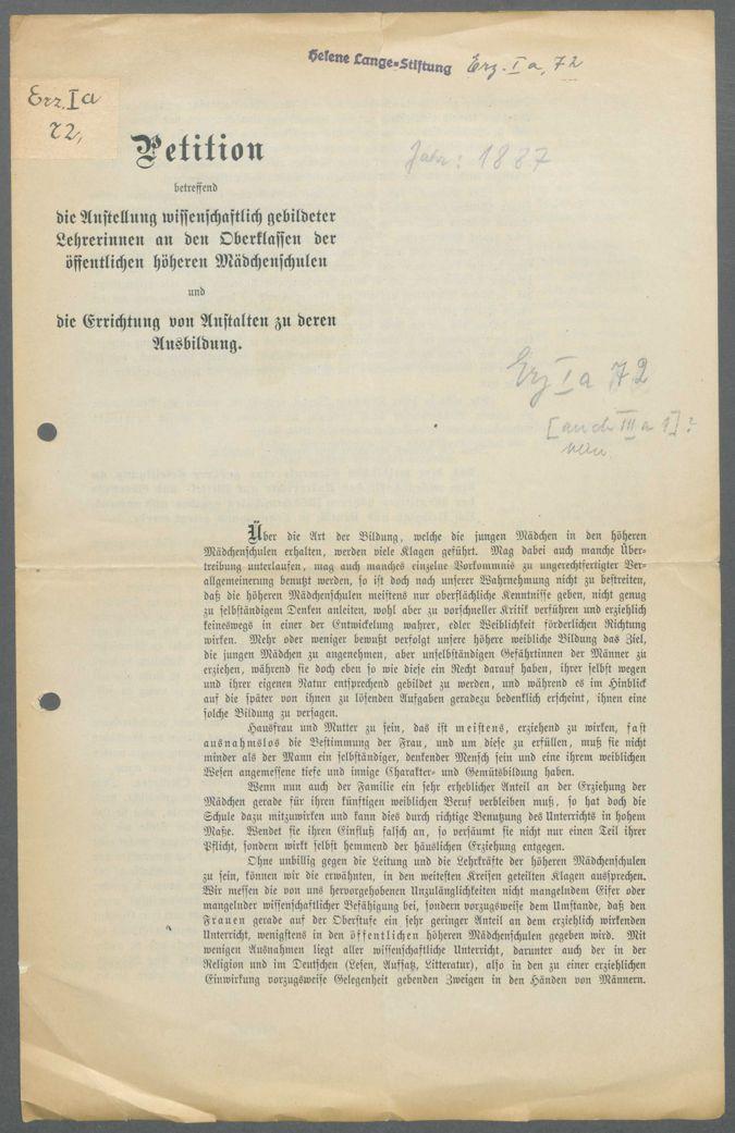 Veröffentlichungen über die höhere Mädchenschule und die Mädchenberufs- (-fortbildungs-)schule  / Seite 4