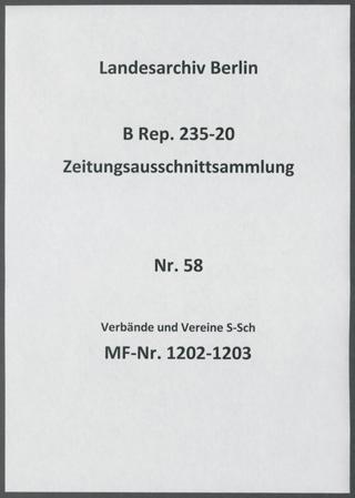 Verbände und Vereine S-Sch