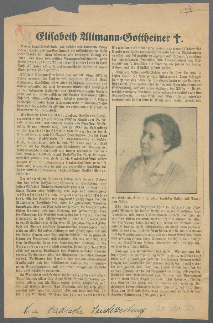 Frauenbiographien in der Frauenpresse / Seite 9