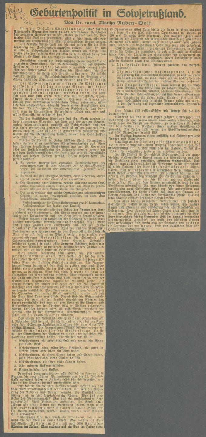 Bevölkerungs- und Familienpolitik / Seite 12