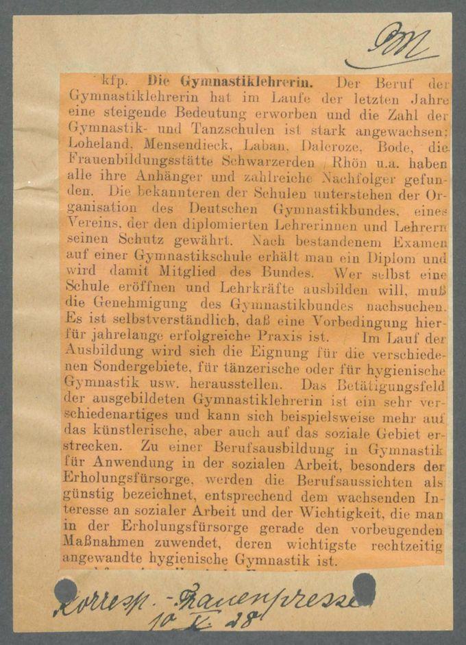 Frau und Beruf / Seite 10