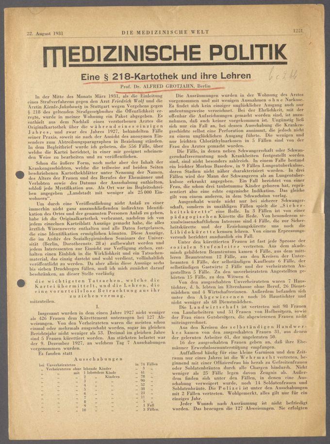 Strafgesetzbuch § 218 / Seite 3