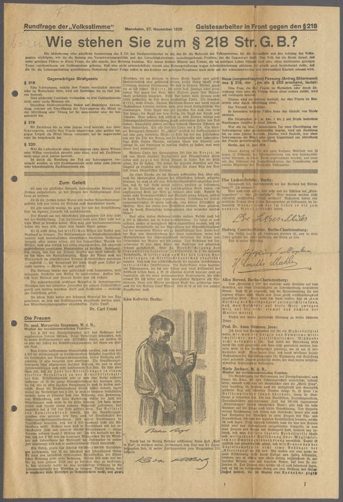 Strafgesetzbuch § 218 / Seite 13