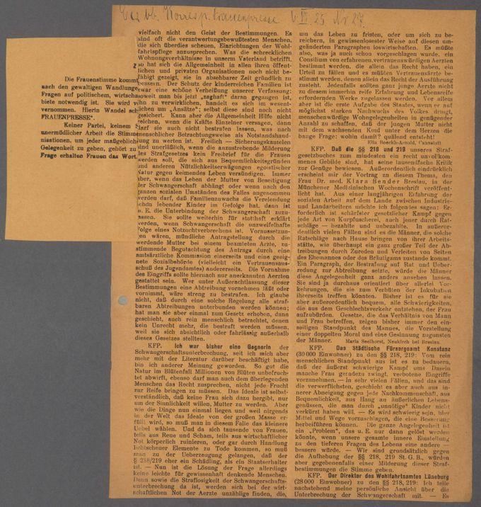 Strafgesetzbuch § 218 / Seite 10