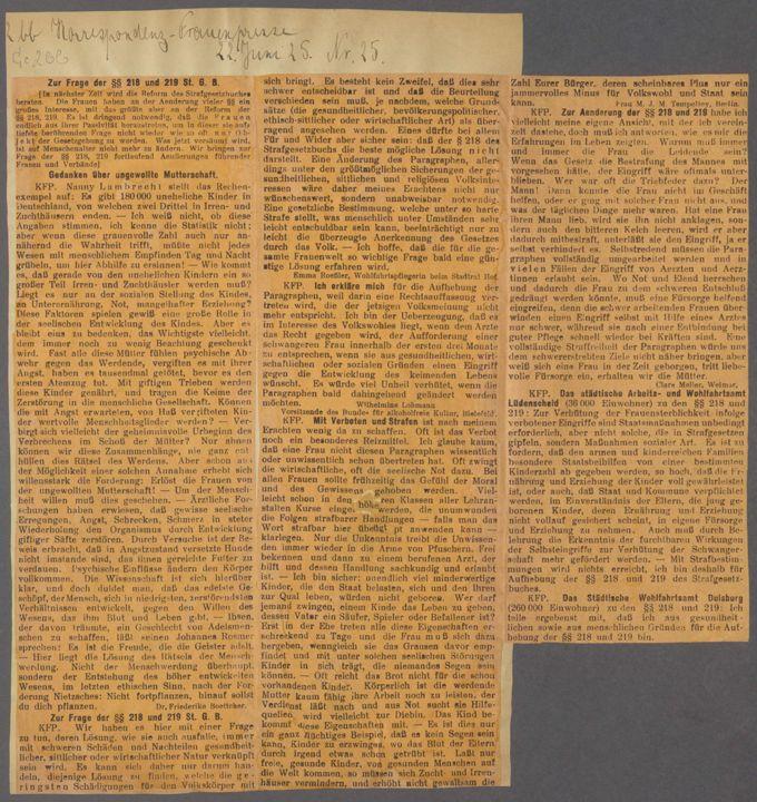 Strafgesetzbuch § 218 / Seite 29