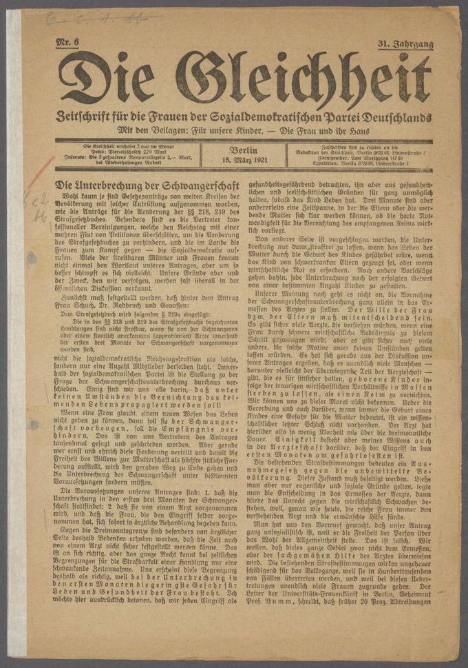 Strafgesetzbuch § 218 / Seite 6