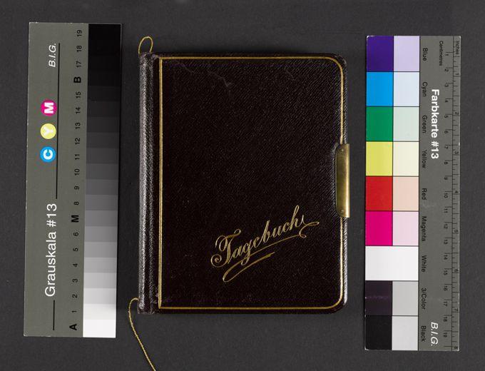 Photographische Lehranstalt : Tagebuch / Seite 1