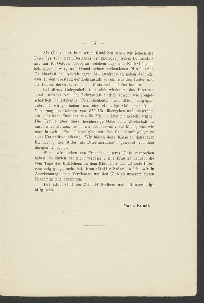 Die Photographische Lehranstalt des Lette-Vereins. Eine Erinnerungsschrift 1890-1900 / Seite 18