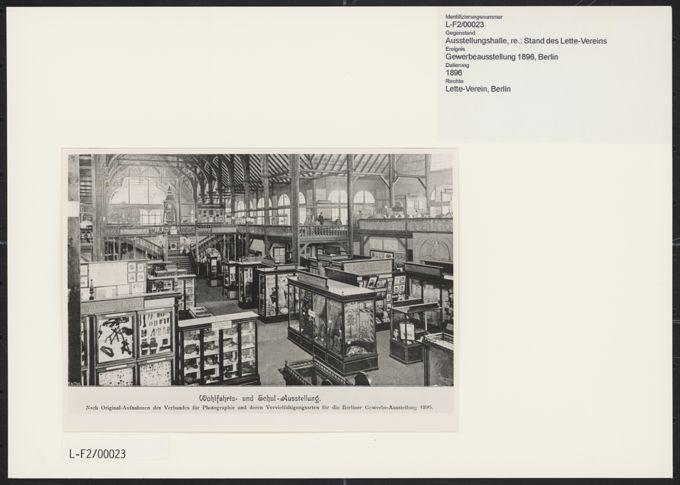 Gewerbeausstellung 1896 in Berlin / Seite 1