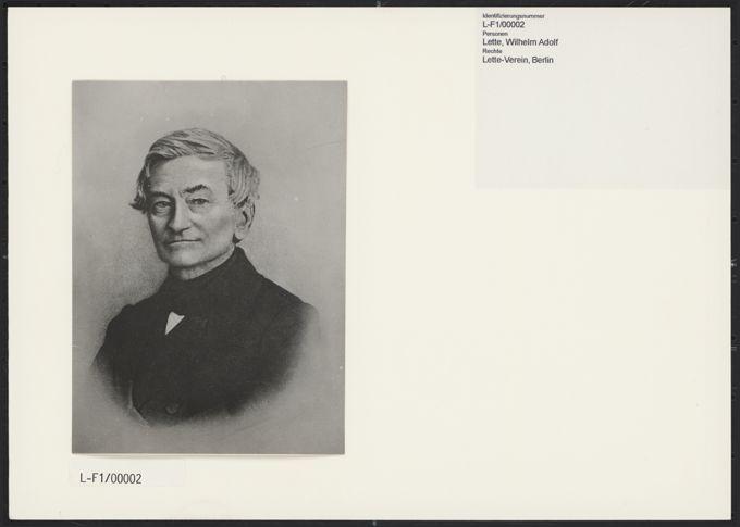 Wilhelm Adolph Lette / Seite 1